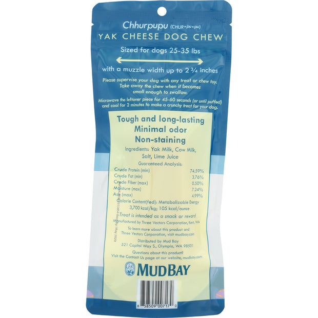 Mud Bay Chhurpupu Yak Chew Medium