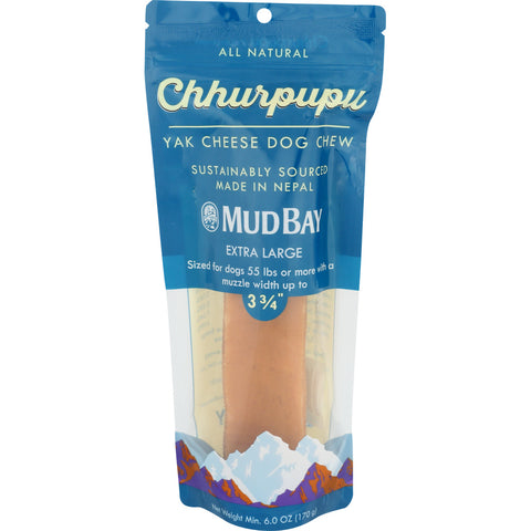 Mud Bay Chhurpupu Yak Chew Extra Large