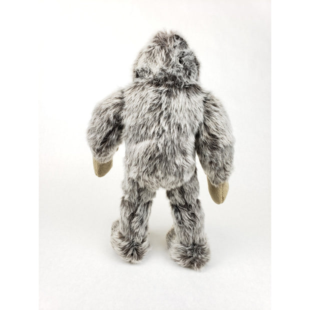 back of Bigfoot Toy from Fluff and Tuff Dog Toys