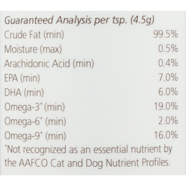 Fish oil for cats guaranteed analysis