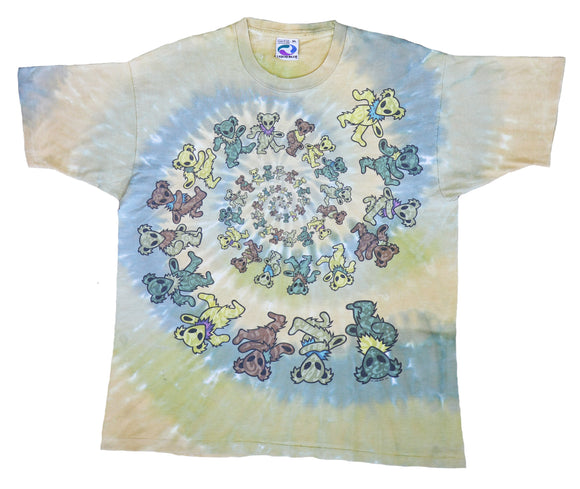 Grateful Dead Glow-In-The-Dark 1996 Tee
