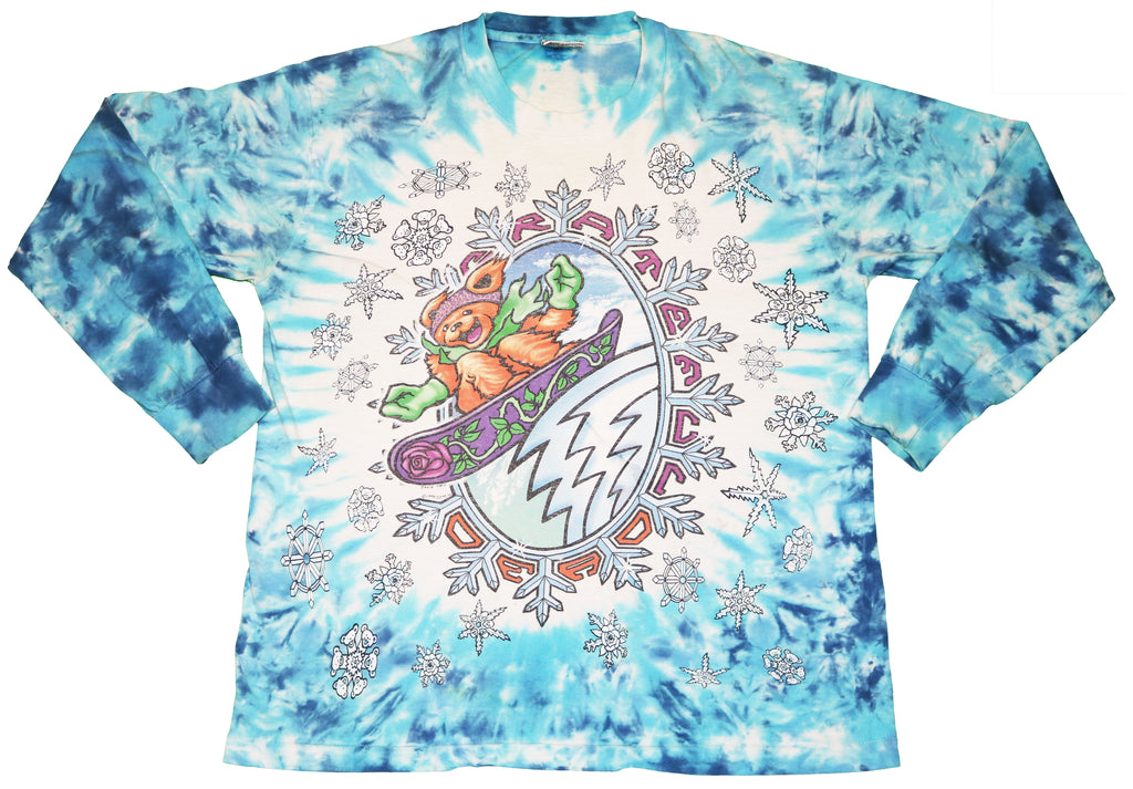 Grateful Dead David Opie 1994 Long-Sleeve Tee