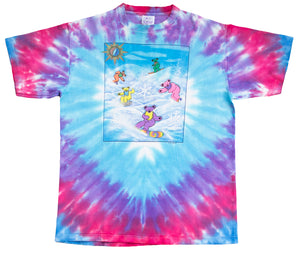 "Grateful Dead ""Snowboarding Bears"" 1990 Tee"