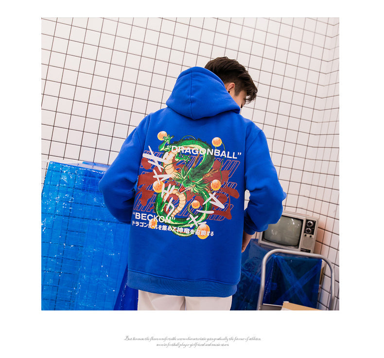 Dragon Ball Hip Hop Loose Sweater Couple Sweatshirt