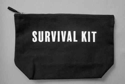 SURVIVAL KIT Accessories Bag - Black