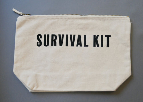 SURVIVAL KIT Accessories Bag - Natural