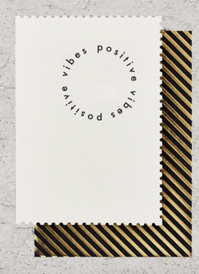 Positive Vibes- Greeting Card