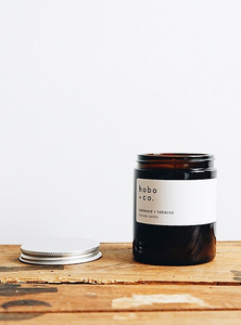 Hobo + Co Candle - Oakwood & Tobacco Jar Candle