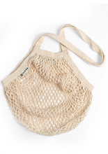 Organic Long Handle String Bag - Available in Natural/Blush/Black