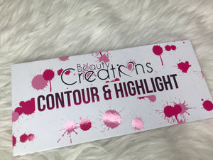 CONTOUR & HIGHLIGHTER BY BEAUTY CREATIONS