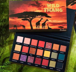 Wild Thang eyeshadow palette