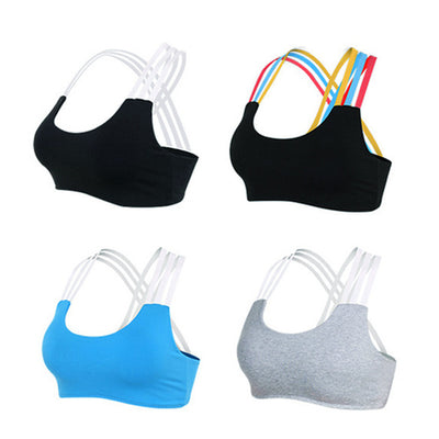 Sexy Strappy Sports Bra Running Fitness Top Yoga