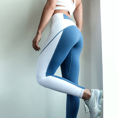Women Push up Yoga pants Patchwork sports Legging