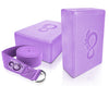 Live Infinitely Yoga Blocks and Strap Set