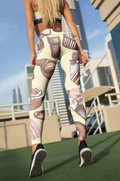 Sweets Lover Gift Leggings For Women Party