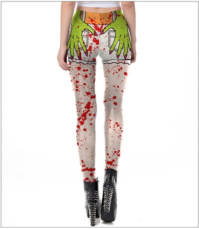 New Fashion Halloween Print Leggings