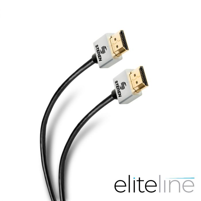 CABLE ELITE HDMI® 4K ULTRA DELGADO, DE 1,8 M