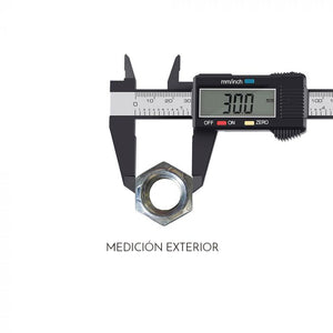 Calibrador Vernier Digital 150mm Pie De Rey Mm O Pulgadas