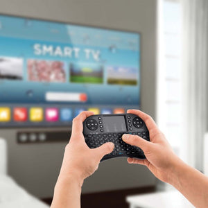 MINI TECLADO INALÁMBRICO CON TOUCH PAD PARA SMART TV