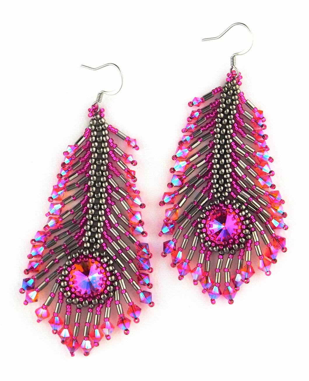 *Download* Peacock Feather Earring Pattern