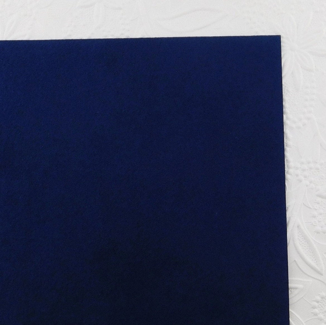 Ultra suede Fabric_Admiral Blue_Bright Navy
