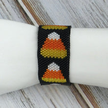 Candy Corn Peyote Stitch Bracelet Kit Tutorial Personal/Small Business Use