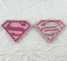 Supergirl Sew On Applique_Crystallized_Patch