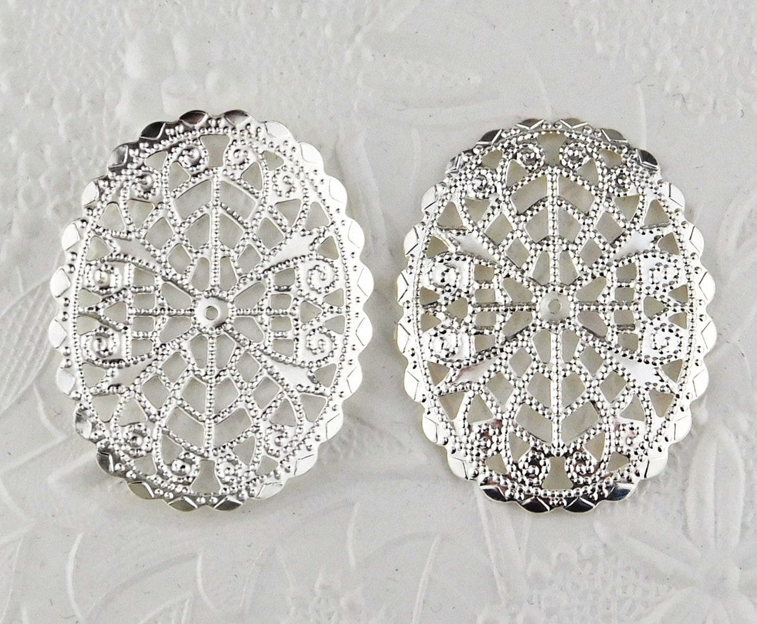 Filigree Stamping_45x35mm_2 Pieces