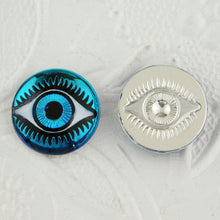 18mm Evil Eye Cabochon_Bermuda Blue_Blue Eyes