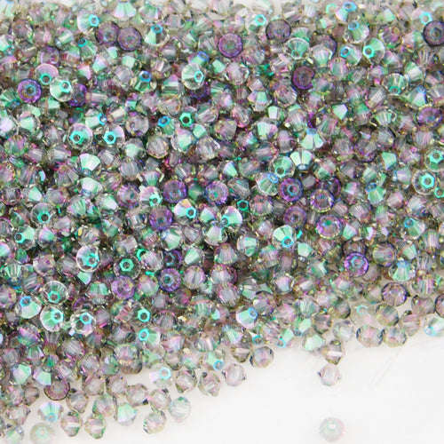 Swarovski 3mm Bicones_Crystal Paradise Shine_144 beads