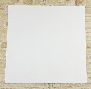 White Ultrasuede Fabric for Bead Embroidery_8.5x8.5 inches square_Microsuede