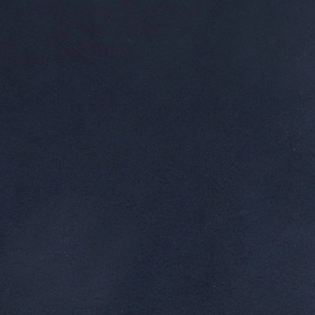 Ultrasuede Fabric_Classic Navy_8.5x8.5 inches square_Microsuede Backing_Bead Embroidery