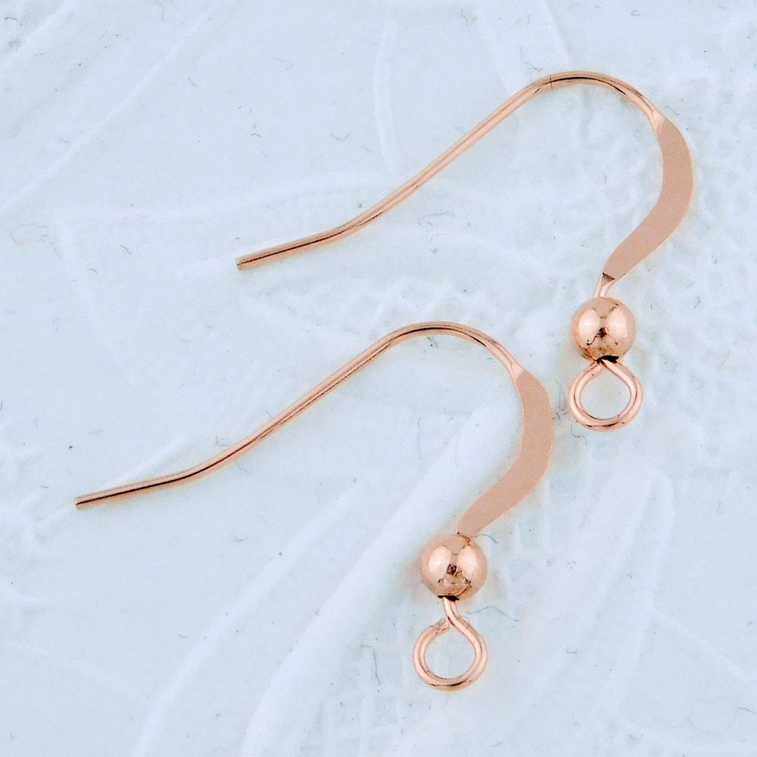 14K Rose Goldfill Earwires_Gold-filled_Precious Metal