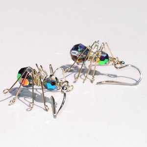 Instant Download PDF_Spider Earrings Tutorial_Wirework_Halloween Earrings_Instructions_Small Business Use