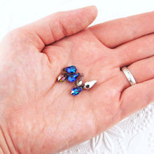 4) Preciosa Crystal Drops_5.5x11mm_Bermuda Blue_4 beads_Top Drilled_Briolette_Drop Bead_Pendant