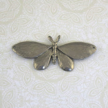 "Moth Pendant_2-1/2x1""_Green Girl Studios"