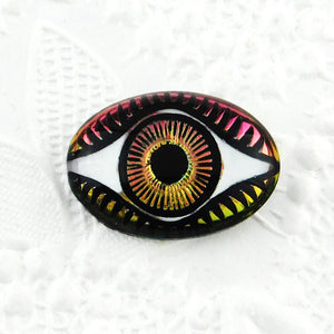 Evil Eye Cabochon_Vitrail Medium_18x13mm