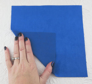 Jazz Blue Ultrasuede Fabric_8.5x8.5 incges square_Backing
