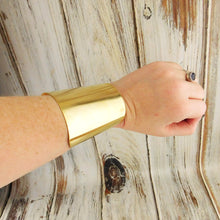 Wonder Woman Style Brass Cuff Bracelet 3 Inches Wide Cuff Bracelet Blank