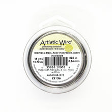22 gauge Stainless Steel Wire_15 yards_13.72 meters_Artistic Wire_Wirework Supplies_Jewelry Design