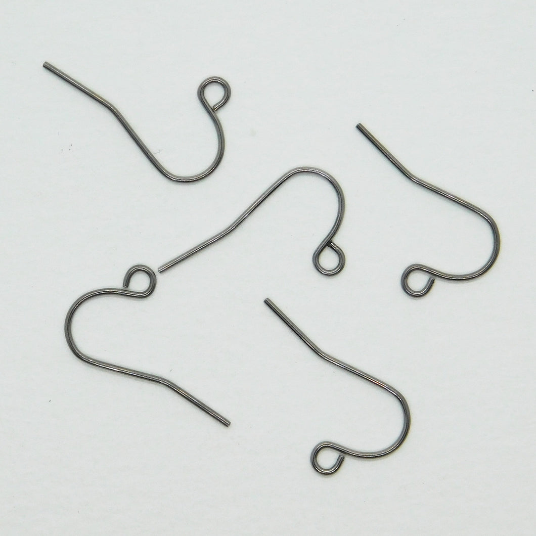 Stainless Steel Earwires_French Hooks_5 pair_Hypo Allergenic_Natural Jewelry_Small Earwires