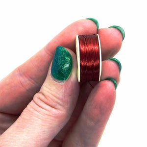 Nymo B Thread Red_Nymo Bobbin_Bead Thread