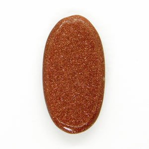 Goldstone Cabochon_29x20mm_Copper and Brown