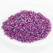 11/0 Delica Beads #056_Raspberry Lined Crystal AB_10 grams