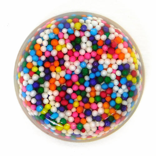 30mm Rainbow Gumball Candy Cabochon_Bubble Gum_Resin Cab