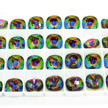 9th Anniversary SALE Swarovski #4470 Fancy Squares_12mm_Nova