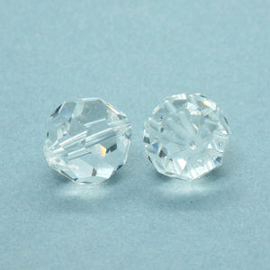 14mm Vintage Swarovski Rounds_Crystal Clear_1980s