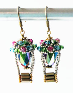 Download_Beaded Hot Air Balloon Earrings Pattern_Right Angle Weave_