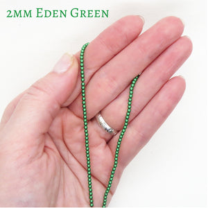 2mm 4mm or 6mm_Eden Green Swarovski Crystal Pearls_50 or 100 Beads_Article #5810