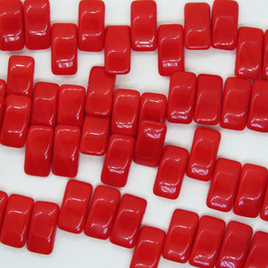 Glass Carrier Beads_9x17mm_Red
